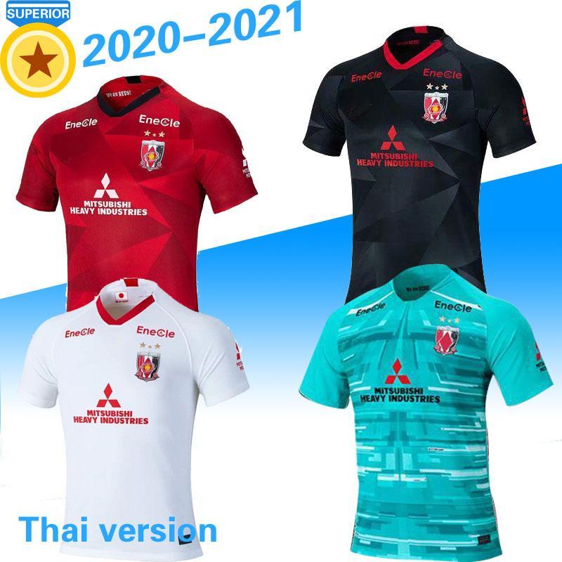 2020 2021 Urawa Red Diamonds maillots de foot Fußballjersey 20 21 Fußballtrikot zu Hause weg 3. Training Polo MAKINO Camiseta de futbol S-2X