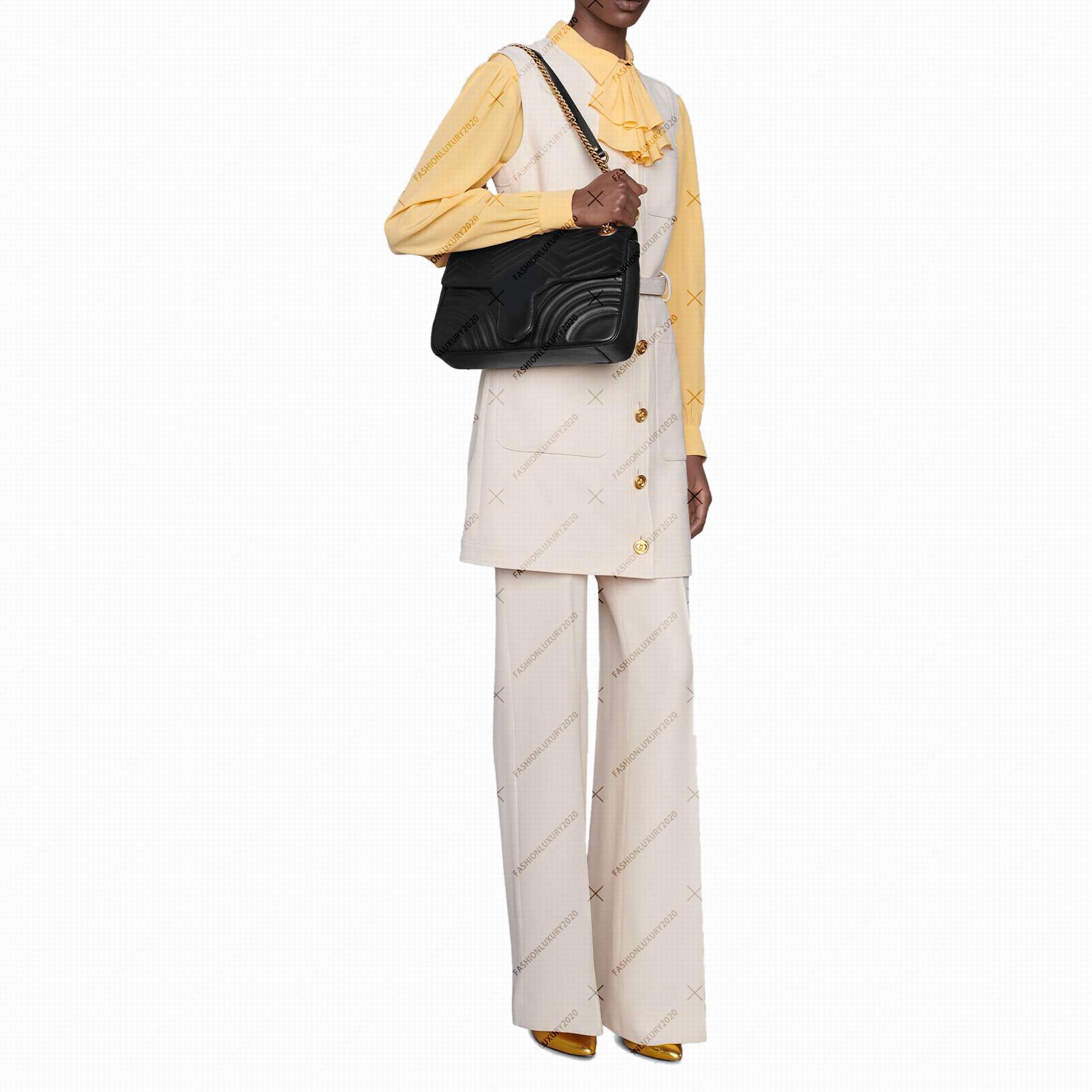 Totes Marmont Fashion Body Body Bolsas Femeninas Bolsas Cadena Crasas Cross Bolsas Bolsa Messenger PU Bolsos de PU de embrague Mochila MWMVT