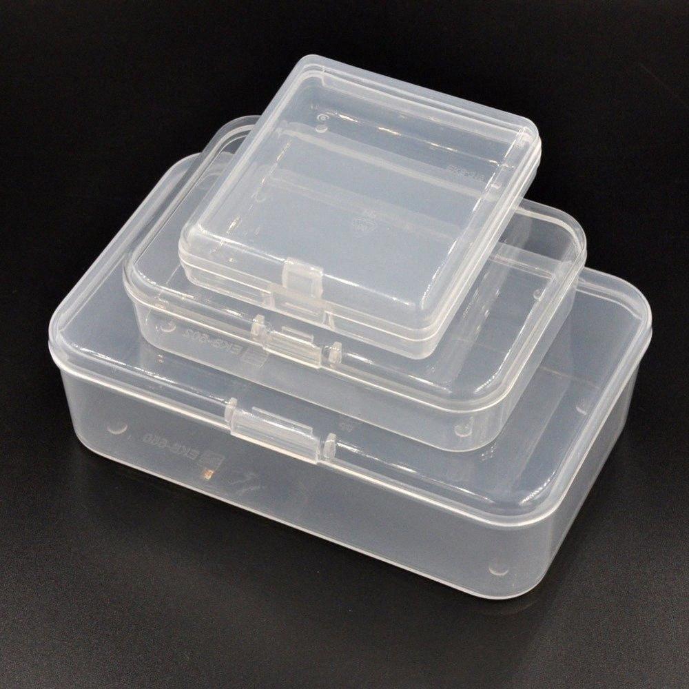 Takı için Kilitli Yüzyıl B Tipi Plastik Saklama Kutusu, Tamir Aracı Parçaları, Kartlar Verme, Yem, Vidalar, Düğme OGYk #