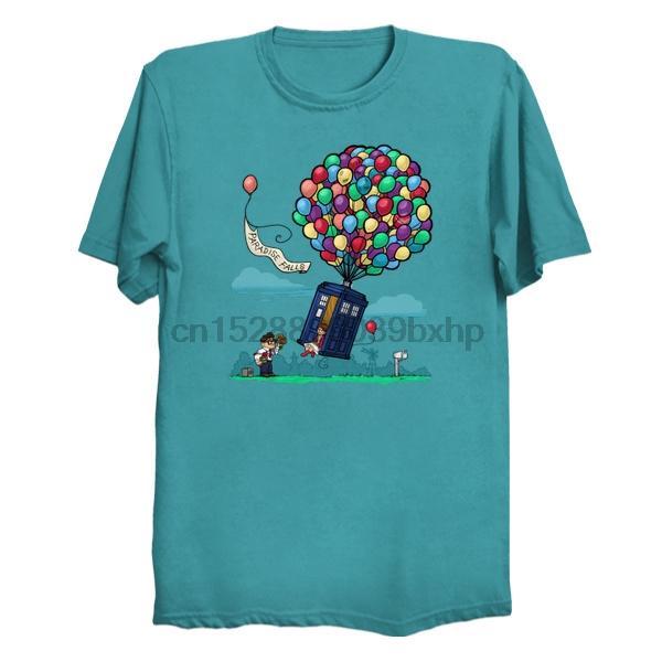 Uomo manica corta maglietta Come Along Carl Donne tshirt