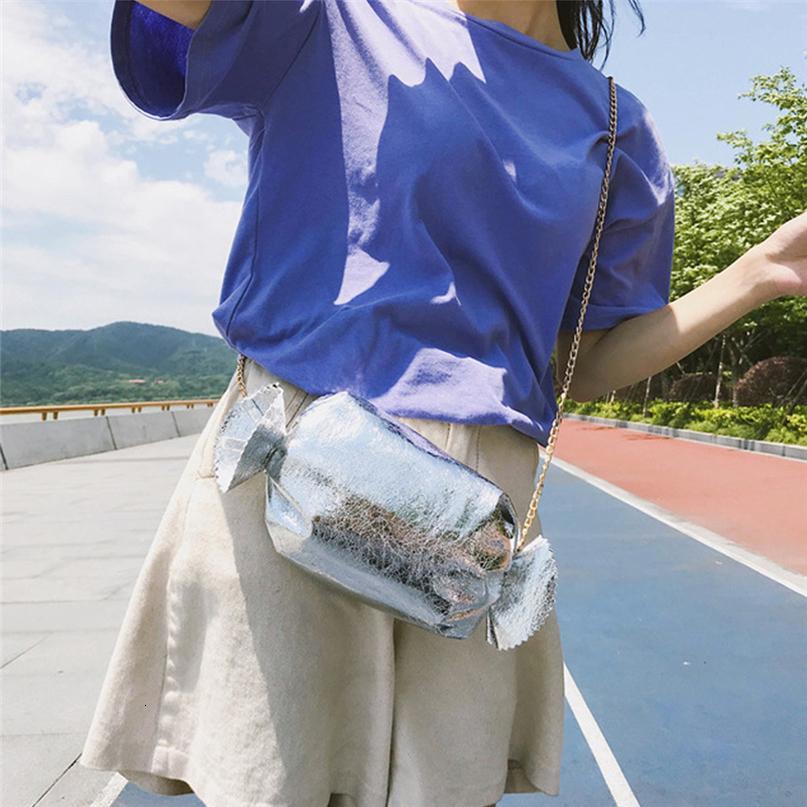 2020 Forma caramelo creativo divertidos bolsos para niñas cinta único bolso monederos de Crossbody del diseño del partido bolsa de los bolsos