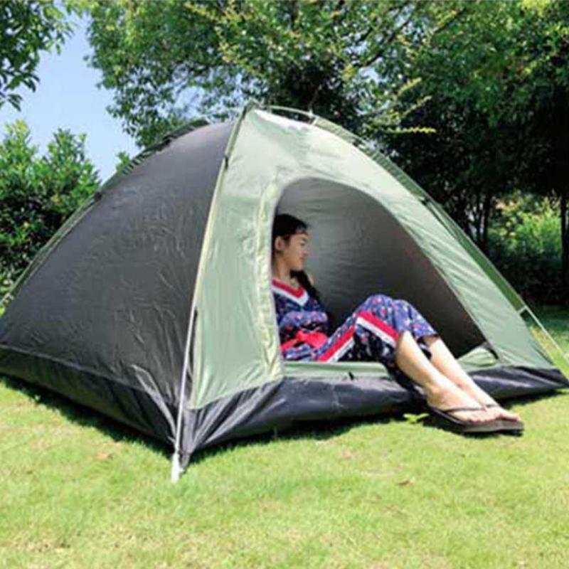 Quick Open Палатка Портативный водонепроницаемый палаточные Легкий кемпинга ВС Укрытие Для Открытый Туризм Отдых на природе