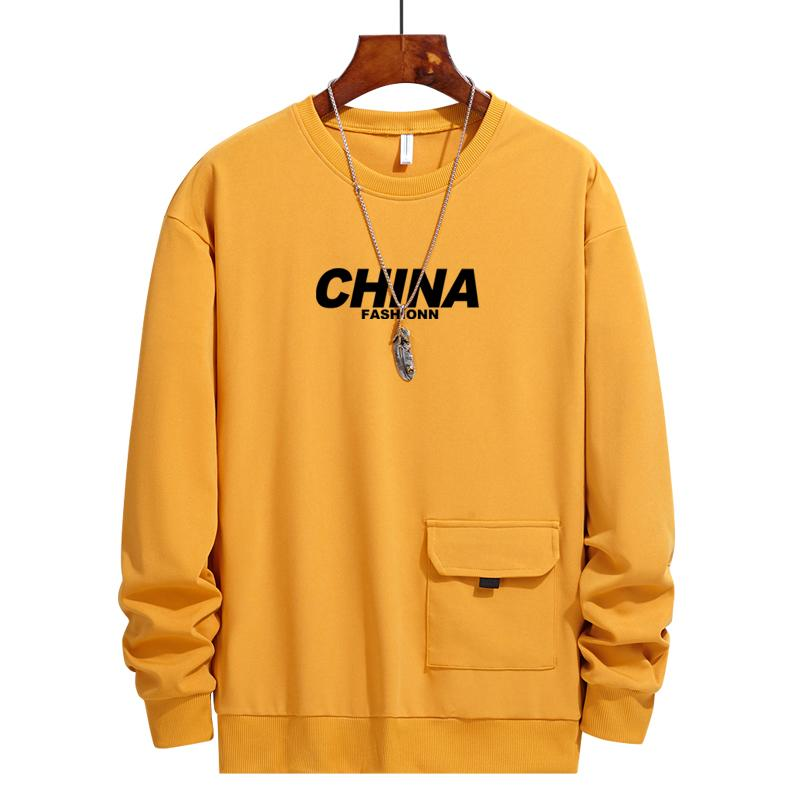 2020 Men Cool Hoodies Autumn Clothes Long Sleeve Round Neck Solid Color Sweatshirt China Printed Casual Hoodies Pullover Undershirt From Wuyasi 42 61 Dhgate Com
