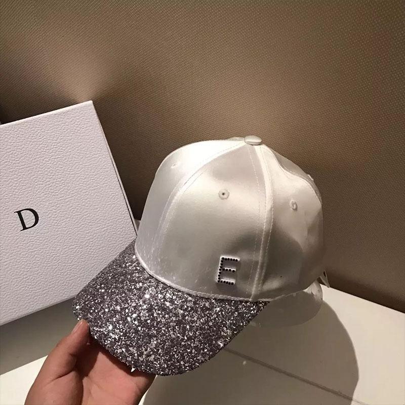 2019 mektup güneş kremi şapka hepsi eşleşiyor pul Elmas Güneş kremi Beyzbol beyzbol şapkası Koreli açık rahat kap kadın