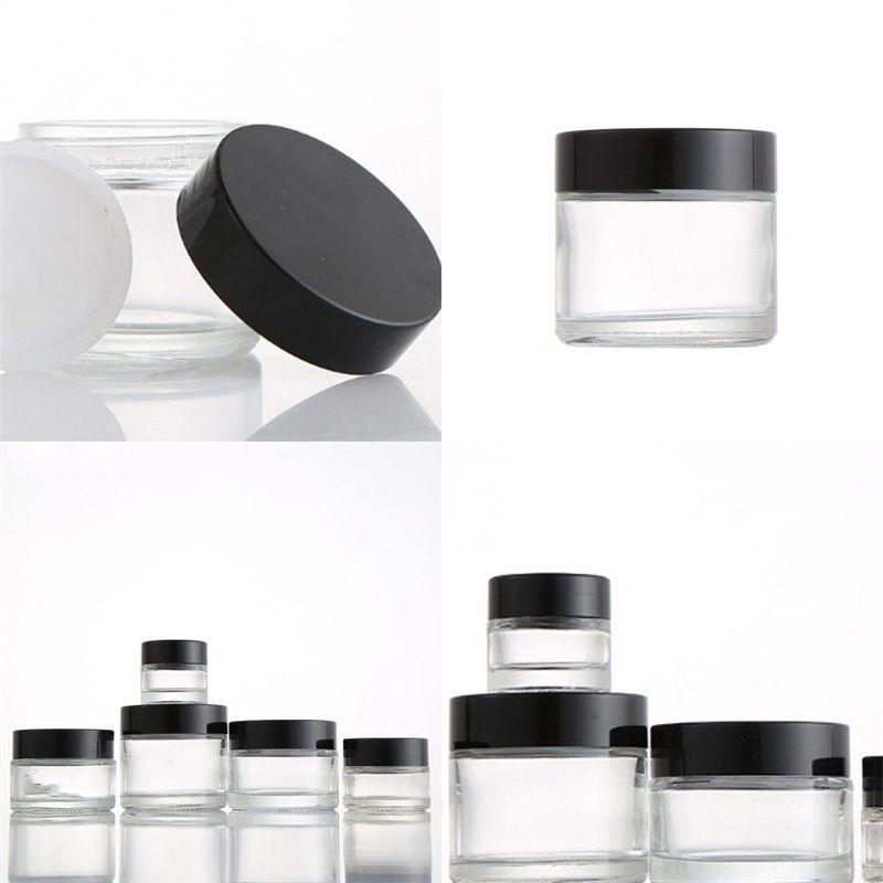 Verre de cire séparées cosmétiques Crème Jar Bouteille Go Out WAXS conteneurs mignon exquis Non facile à endommager 1 55zc E2