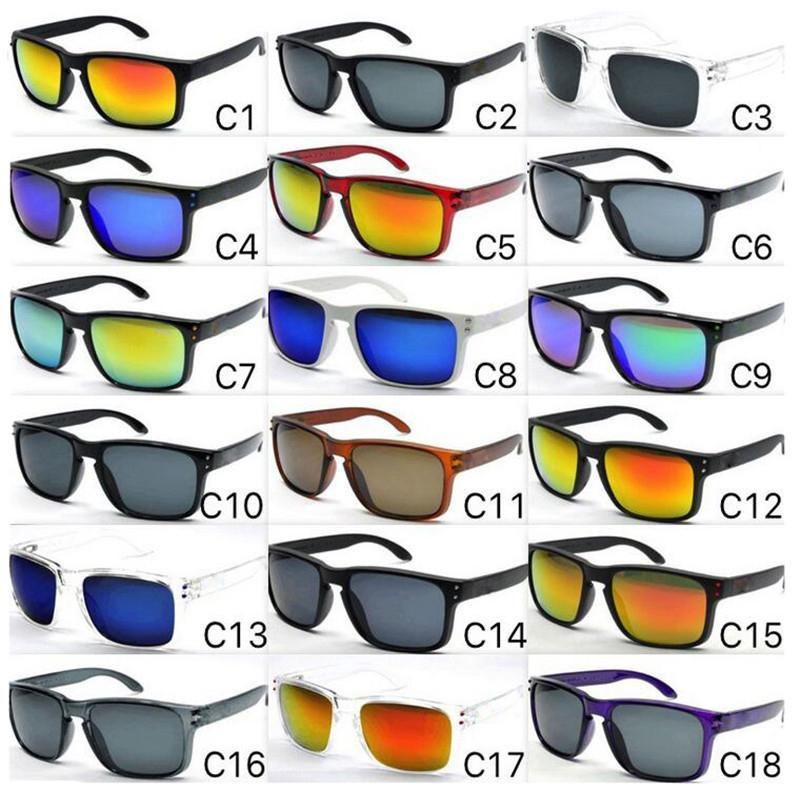 2020 Sıcak Satış Tasarımcı Güneş İçin Erkekler Yaz Gölge UV400 Koruma Spor Güneş Erkekler Güneş Gözlükleri 18 Renkler DHL SERBEST