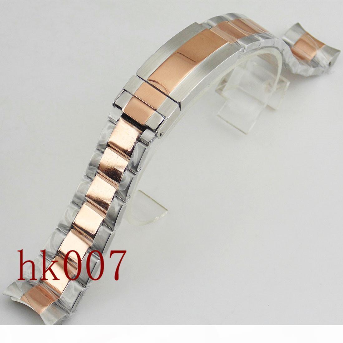 P565-Uhr 40mm Kit 20mm 316L Rose Gold Edelstahl-Armband