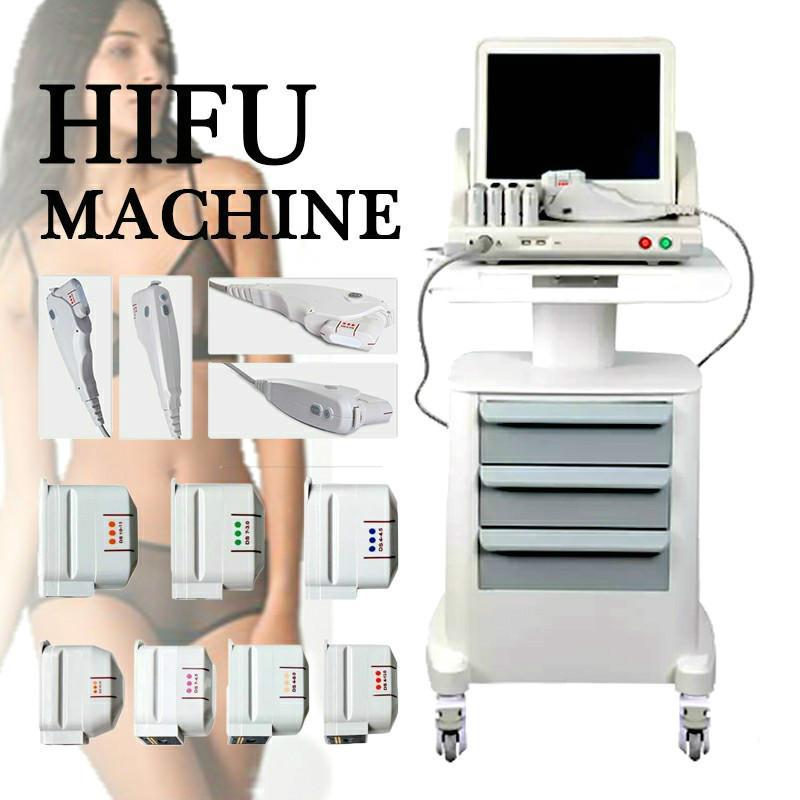 Sıcak Satış HIFU Makinesi Yüz Germe Taşınabilir Odaklı Ultrason Kırışık Karşıtı Ekipmanları HIFU HIFU Vücut Zayıflama
