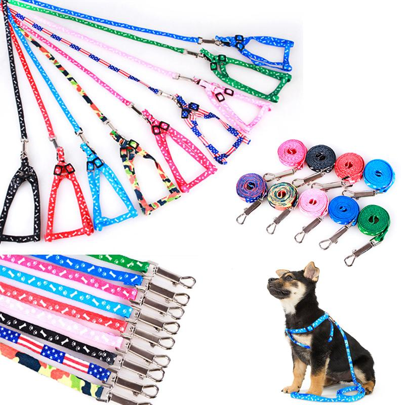 Adjustable Dog Leash Cat Harness Puppy Collar for Small Dogs Harness Kitty Walk Out Pet Lead Pet Supplies