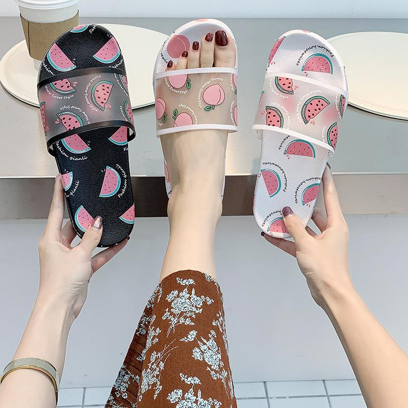 Fashion Fruit Print Women Slippers
