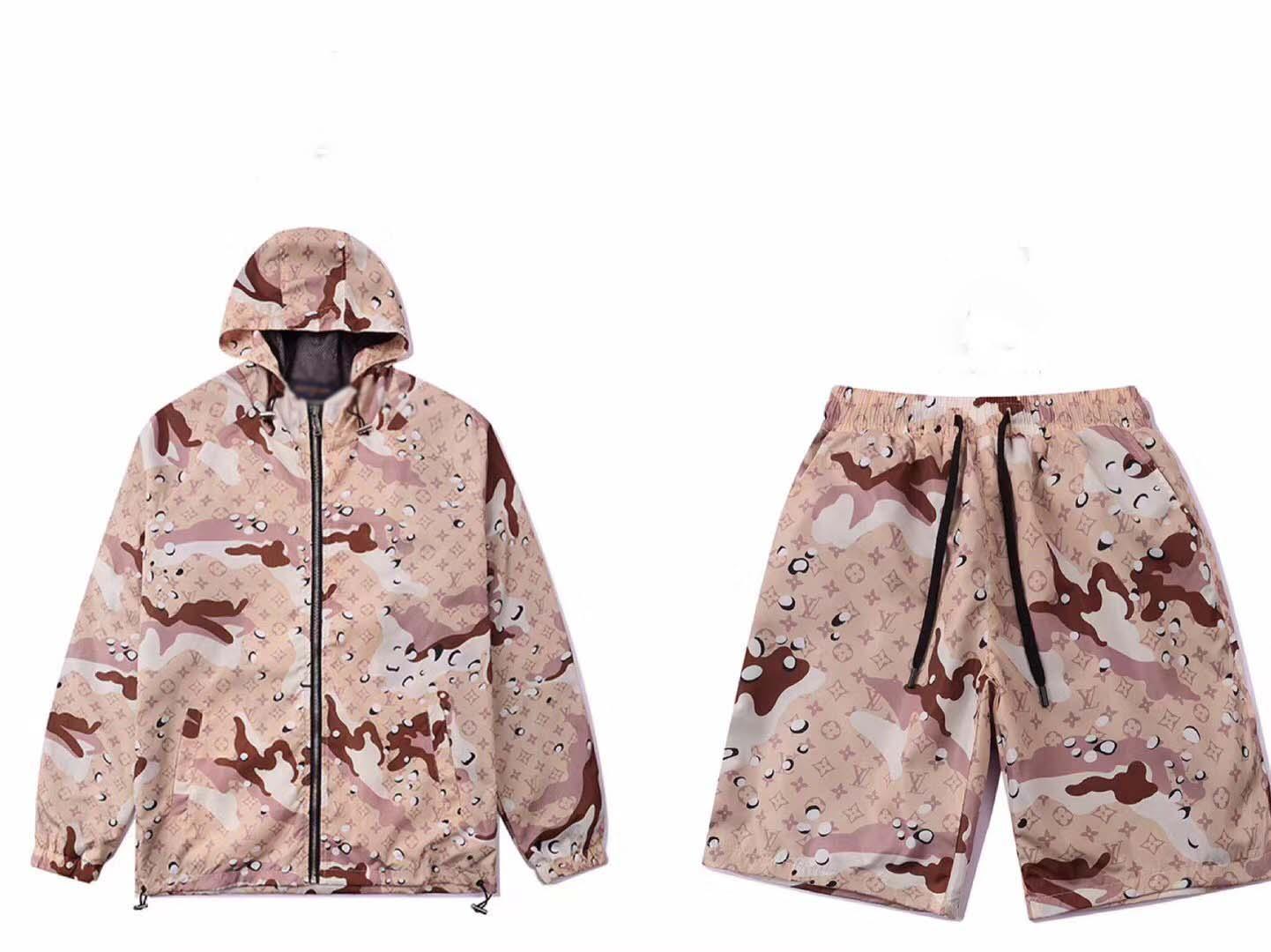 2020 diseñador de traje de chaqueta deportiva de moda correr deportes de los hombres de manga corta traje de ropa deportiva carta de juego delgado de la medusa lux