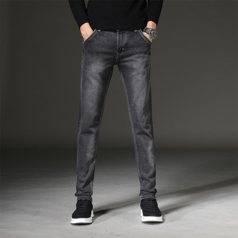 Moda Jeans de New Arrivals Homens Ripped Denim calças stretch motor Calças Hetero Vintage