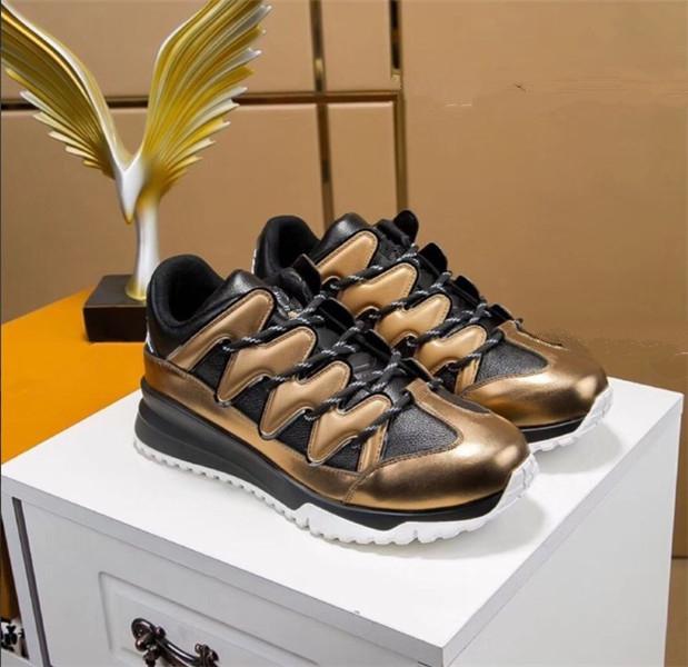2020 Hommes Chaussures Casual Chaussures de sport confortable Mode souple Homme Flats Chaussures Noir Outdoor Homme Chaussures de marche de fd04