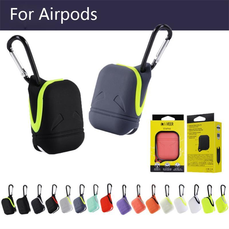 2020 For Airpods Silicone Bluetooth Wireless Earphone Case For