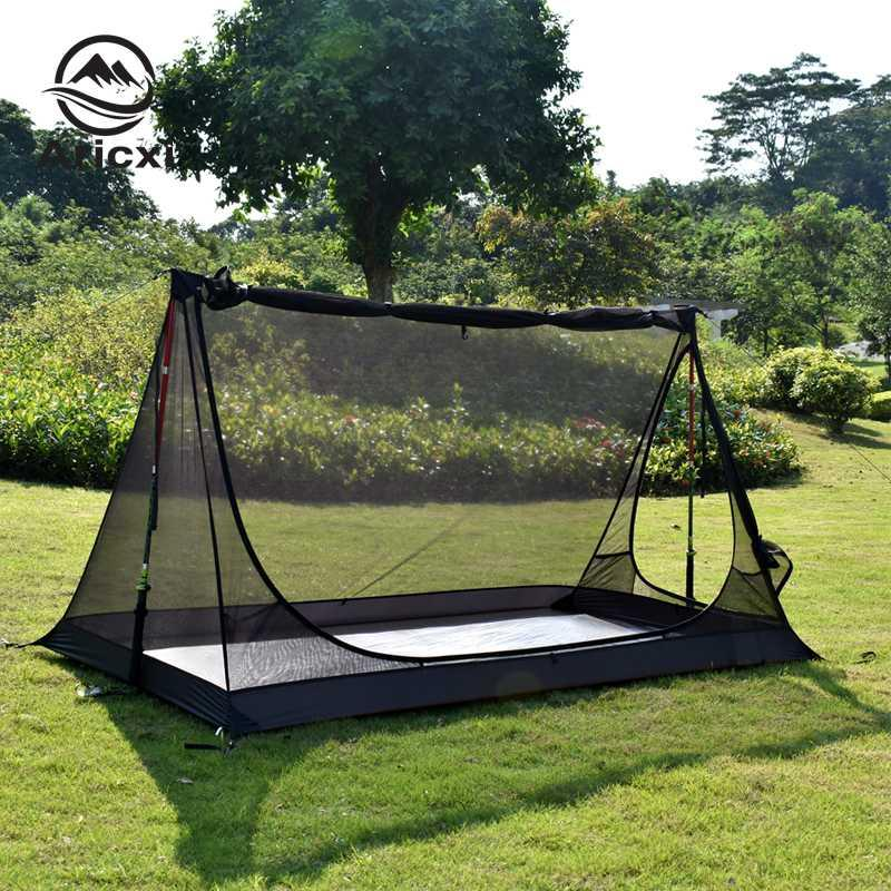Aricxi Outdoor bushcraft inner tent 2 Person 40D Silnylon Ultralight rodless tarp Inner Tent