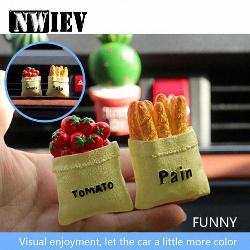NWIEV voiture Climatisation Vent parfum clip résine Cactus Fit CRV A3 A4 B6 Accessoires SKFO #