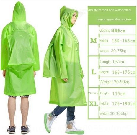 caminhadas kQZHM Adulto exterior Schoolbag Manto capa de chuva mochila impermeável escalada capa de chuva transparente grande chapéu de aba waterp dos homens e das mulheres