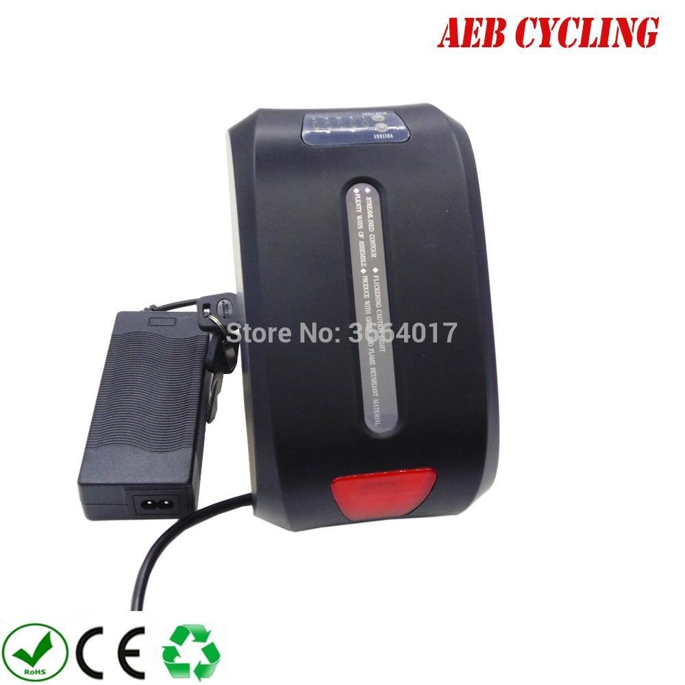 şarj cihazı ile yağ lastik bisiklet şehir için AB ABD ücretsiz gönderim ve vergileri Çin Ebike Li-ion 24V 10Ah Haibao koltuk tüp pil