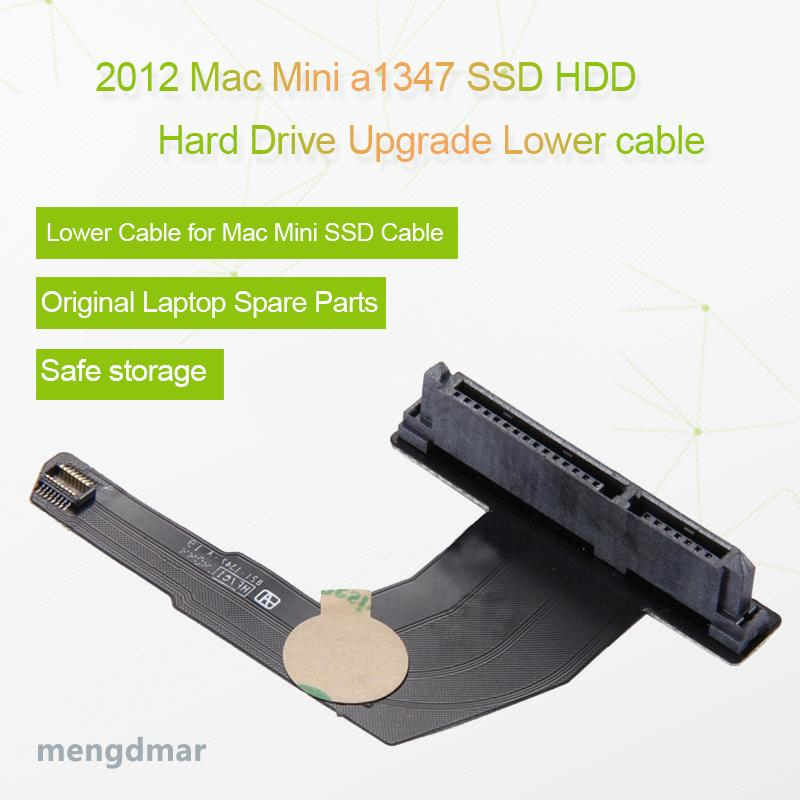 SSD HDD Hard Drive Upgrade Upper Lower Cable with Tools for Mac Mini A1347 (2012) / MD387 MD388 2nd repairing 821-1347-A