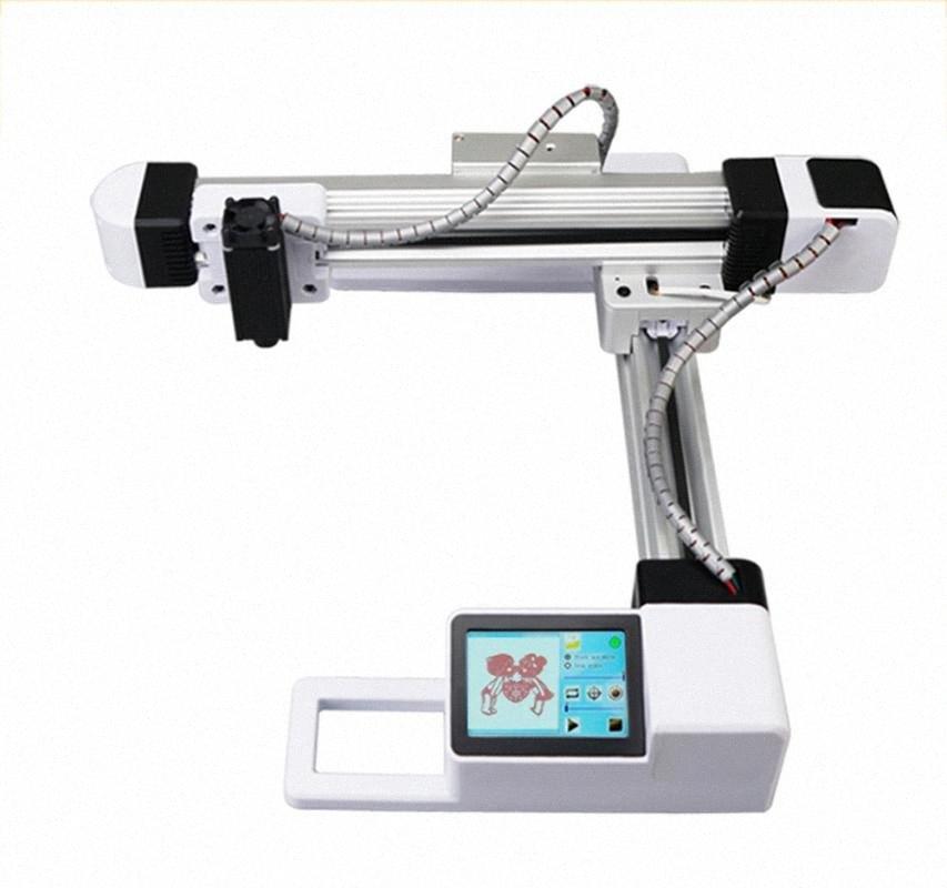 KKmoon EU / US 7W / 20W Desktop гравер 100-240 Портативный DIY гравировальный станок Mini Carver с 3,5-дюймовый ЖК-экран wuPT #