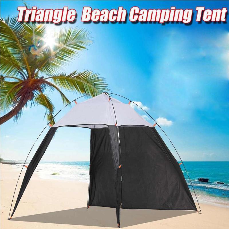 Automatische Sofort-up Strand Zelt 5-8 Personen Cabana Markise Sun Shelter Sonnenschutz und wasserdicht für Outdoor-Camping-