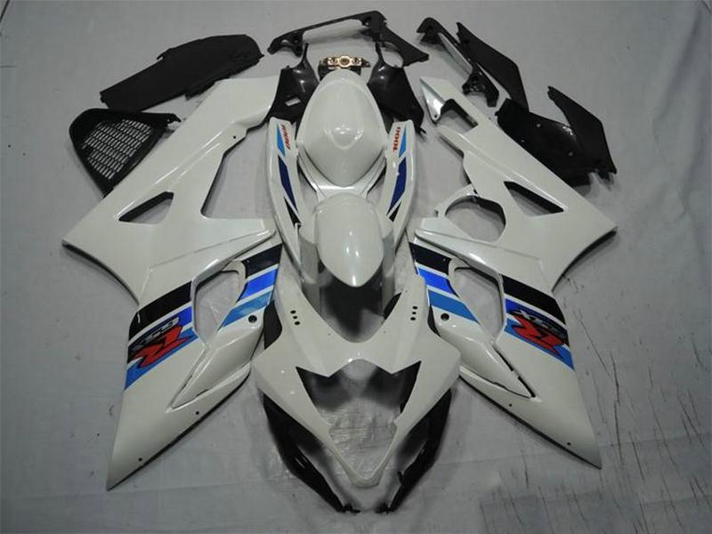 Injection Fairings Kit für SUZUKI GSXR1000 GSXR1000 2005 2006 GSXR 1000 05 06 #Body Abdeckung GSXR1000 05-06 Tankabdeckung #white BLACK # U47G5