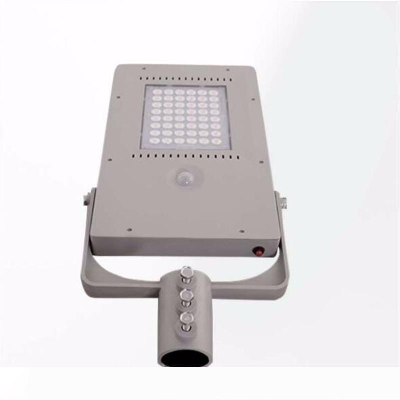 24W Capteur de mouvement LED rue lumière solaire extérieure de sécurité Chemin étanche Garden Park Intergrated Light Control Solar Light Applique