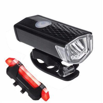 Montagne Phares vélo Feux arrière nuit Équitation USB de charge Bright Lights Riding Equipment Lampes de voiture Accessoires
