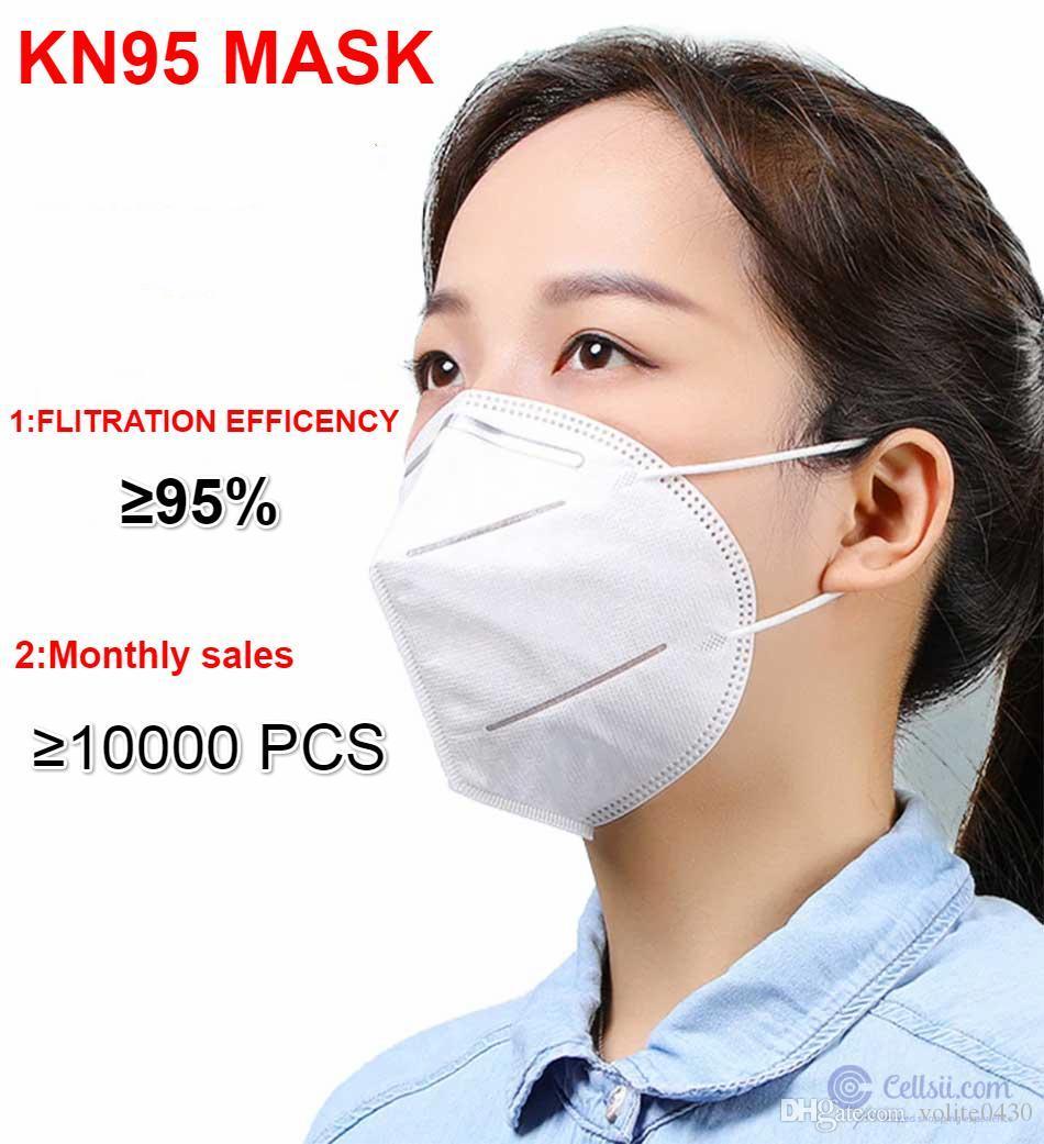 новые kn95 маски доступны 5 защитный слой маски домашнего РМ2,5 лица Рот маска Бесплатная доставка DHL