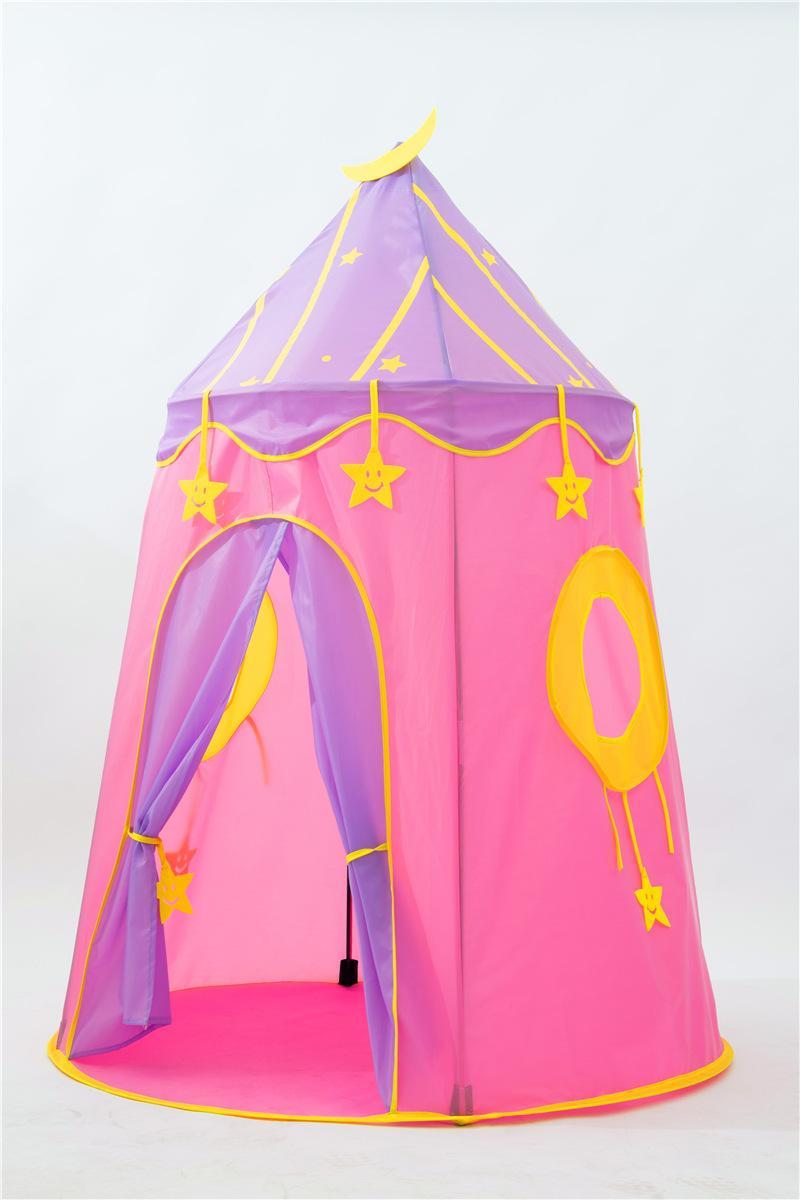 Fabbrica diretto dei bambini della tenda blu stellato coperta tenda Game House Castello di bambino del gioco Yurt