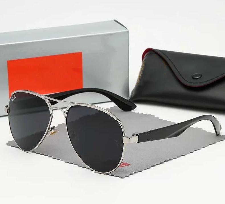 Sehr cool Männer Frauen Marken-Sonnenbrille 8 Farben Klassische Designer-Sonnenbrille mit Geschenk-Box