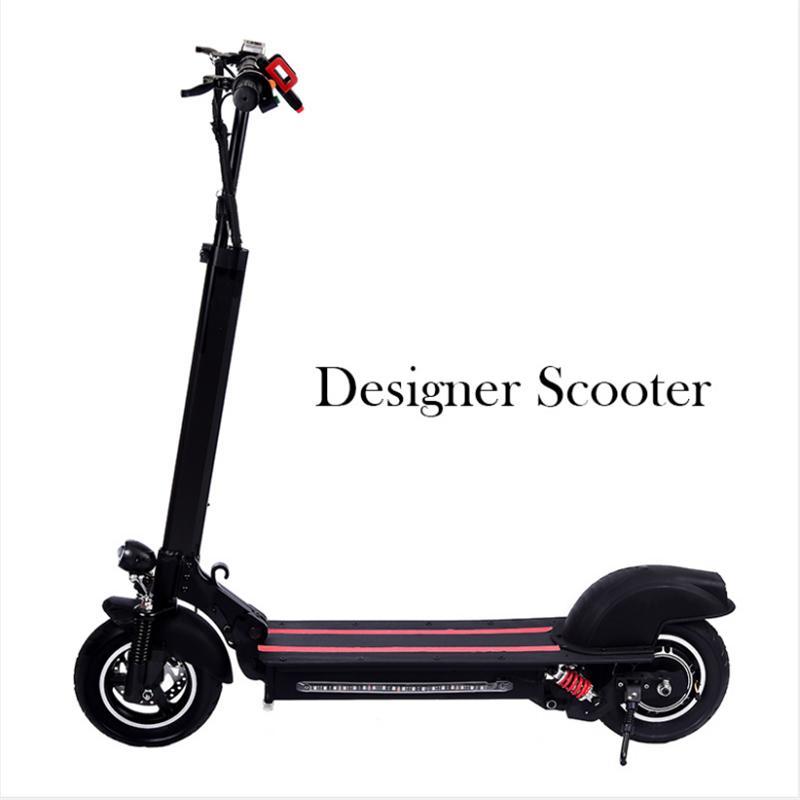 Almanya Depo 10 inç Alüminyum Alaşımlı Elektrikli Scooter 48 V 600 W Güç 12Ah Pil Yetişkin Akıllı Scooter Gyl003 Stokta Hızlı Teslimat