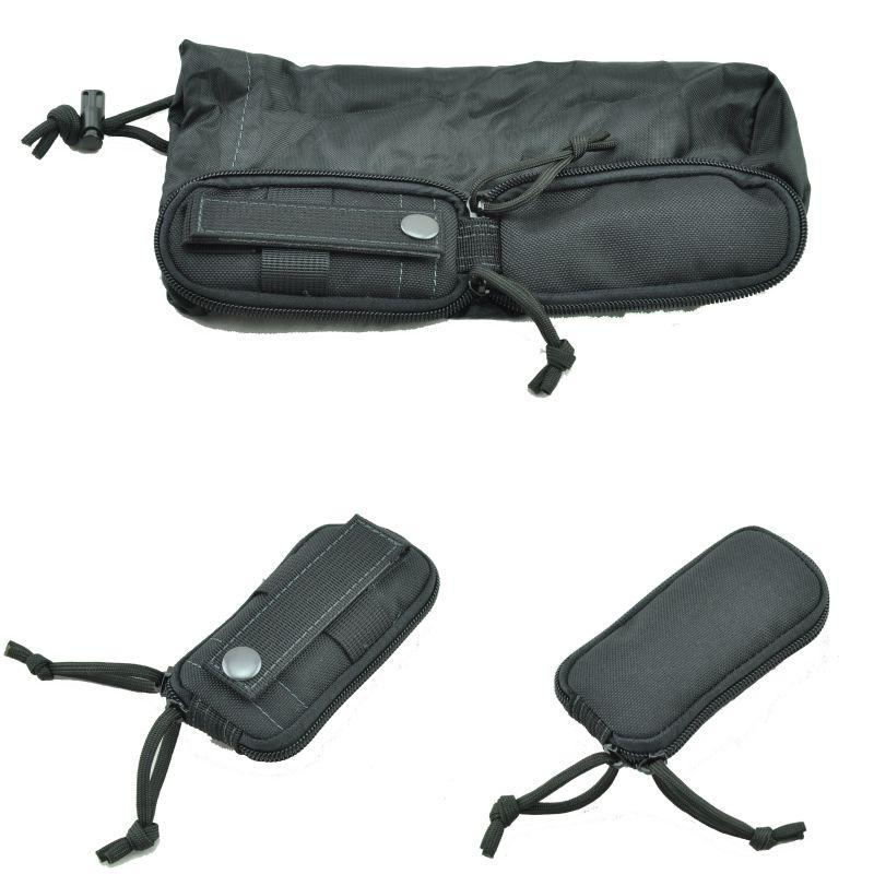 Folding Water Bottle Bag Combat Tactical 1000D Nylon Bags Outdoors Hunting Kettle Hiking Water Bottle Pouch Carry Bags