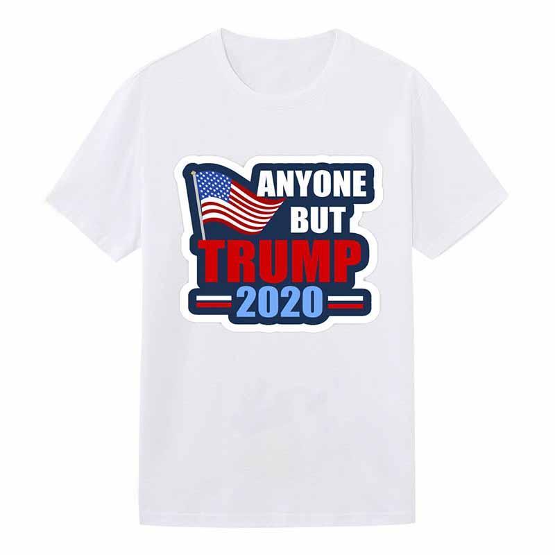 DHL Shipping Donald Trump 2020 T-shirt das mulheres dos homens em torno do pescoço de manga curta Mantenha América Grande Impressão Carta Tops 11 estilos X435FZ