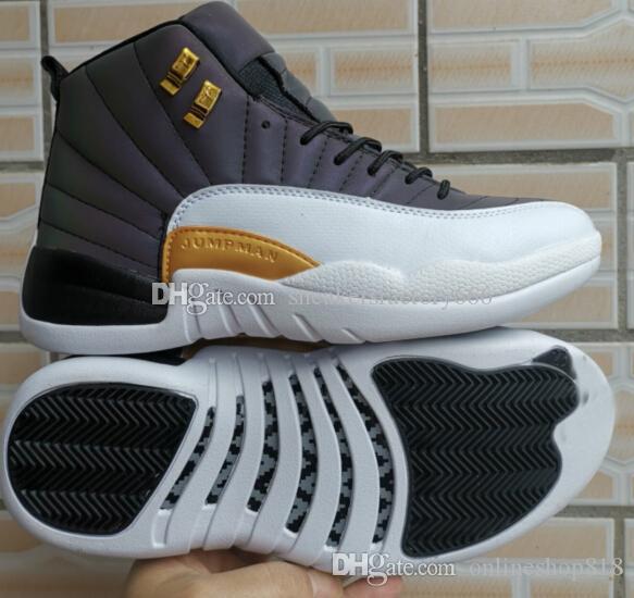 Novas 12s flashes homens tênis de basquete Sneakers 12s CNY Playoff o ginásio MESTRE 12s sapatos desportivos 7-13
