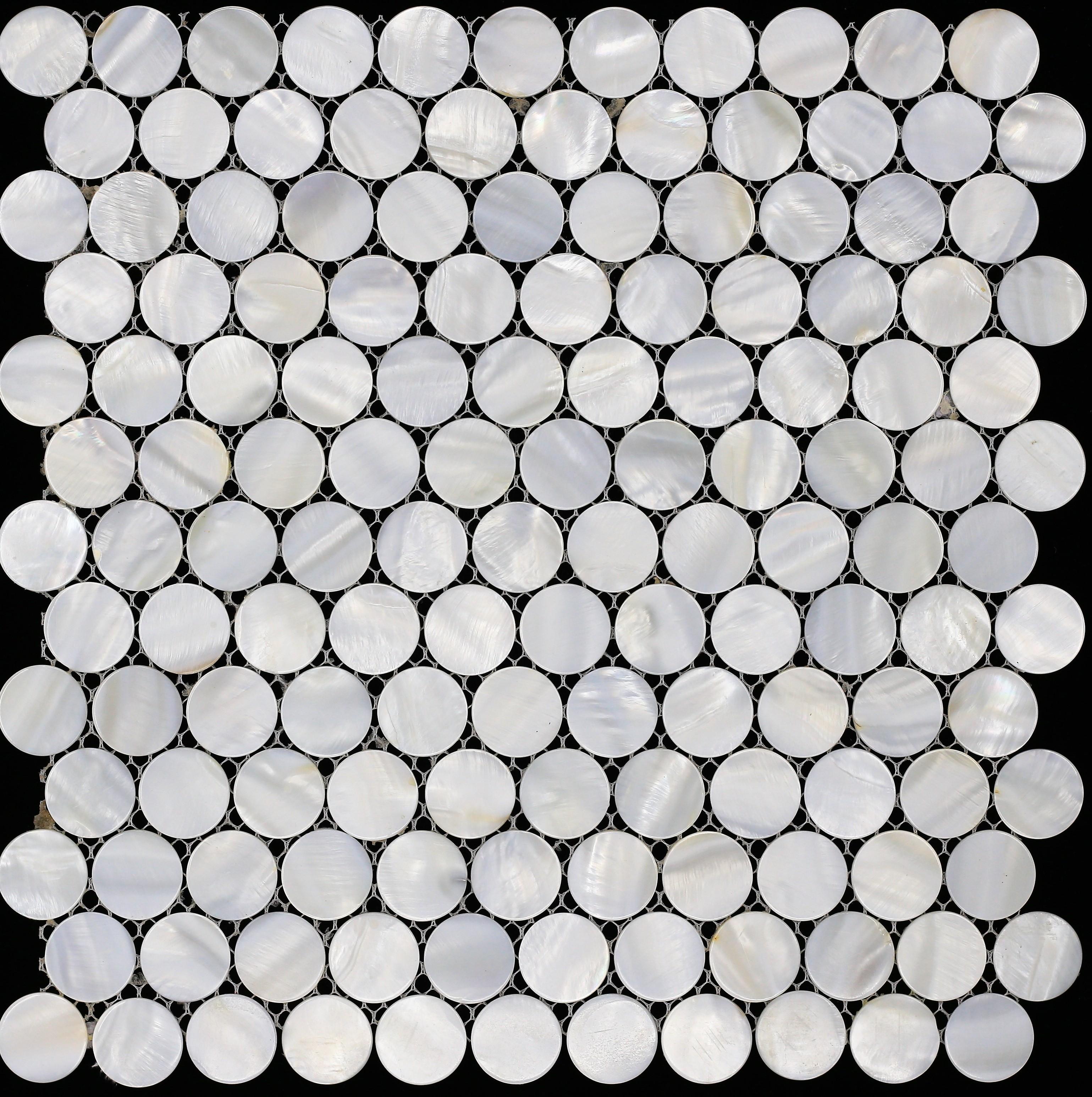 Penny mãe ronda de pérola shell telha da parede da telha de mosaico mosaico montado telha backsplash cozinha