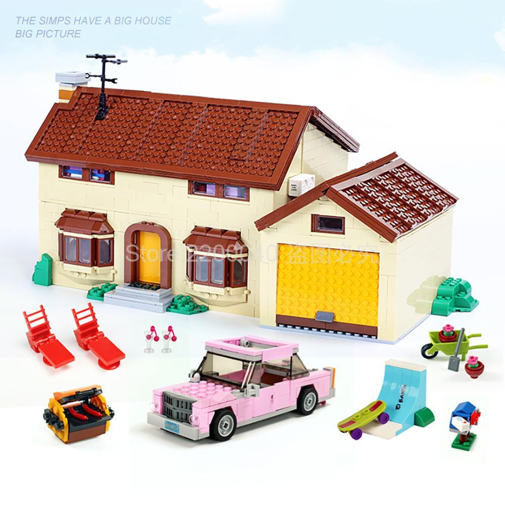 16005 modelo de personagem de desenho animado bloco de construção 2575 pcs tijolos brinquedo crianças presente aniversário compatível desenho animado 71006