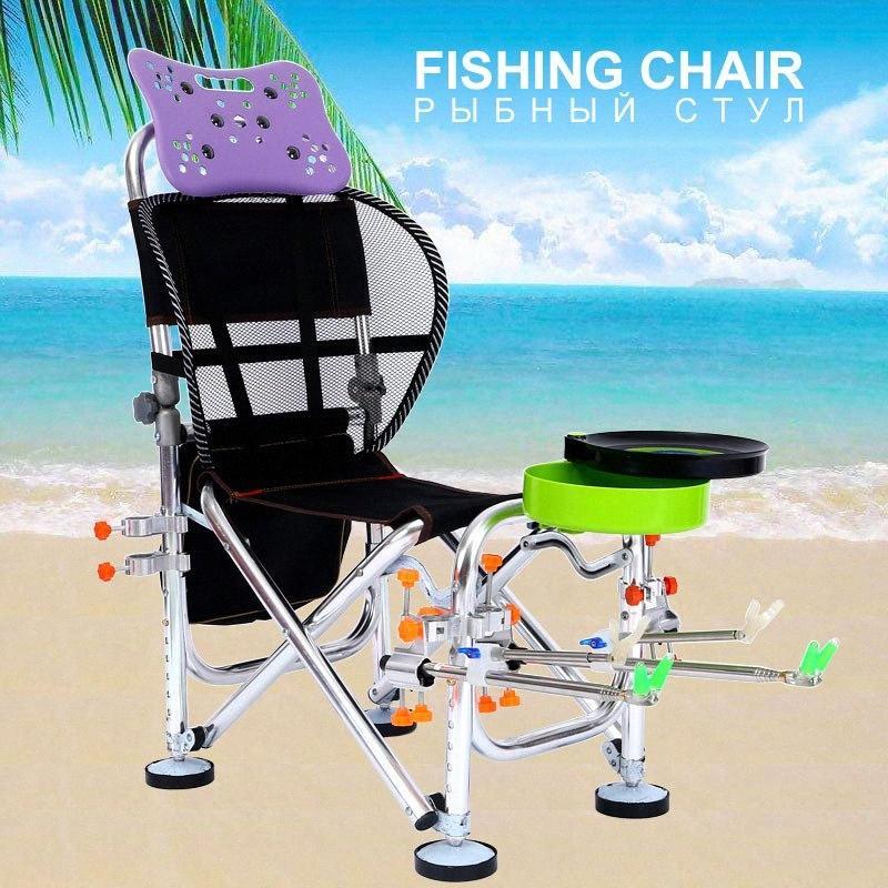 Ajustável Lua Cadeira da pesca Camping Chaise Stool Silla Cadeiras estendida Stool Praia Uma Cadeira portátil Sillas Home Móveis SyFL #