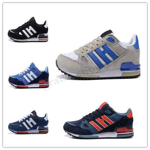 Adidas Originals ZX750 ZX750 Running Shoes Sneakers zx 750 das mulheres dos homens Vermelho Branco respirável Azul Atlético Outdoor Sports Jogging Walking Shoes Tamanho 36-44 PP04