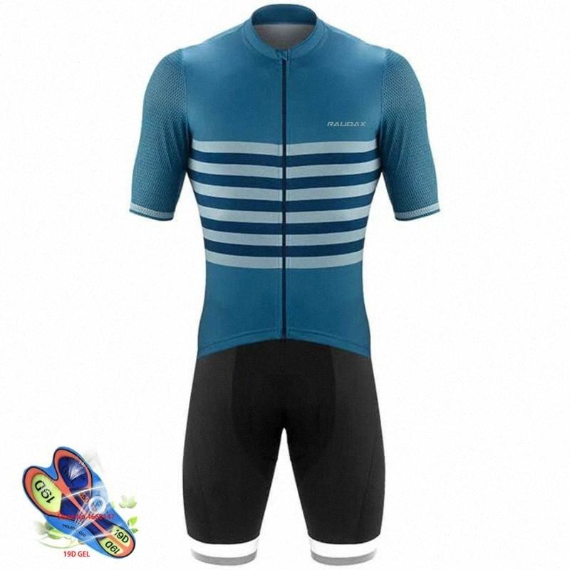 Männer 2020 Radtrikot Pro Sommer-Breathable Kurzarm-Trikots einen.Kreislauf.durchmachenClothing MTB Ropa Ciclismo Hombre Bib Shorts Anzug q2uR #