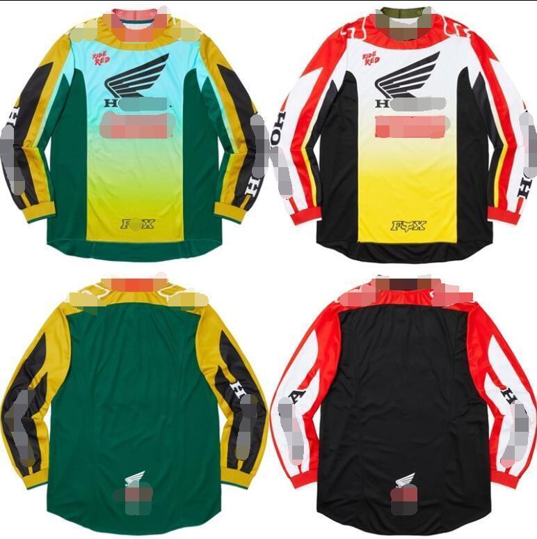 HONDA downhill clothing off-road long T-shirt motorcycle clothing DH mountain bike cycling clothing jacket men long sleeves custom