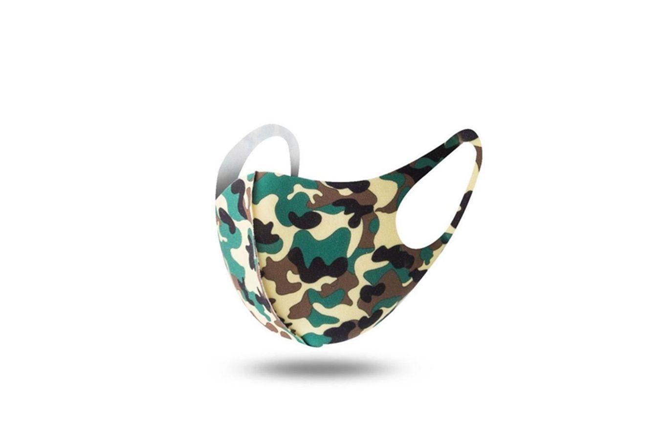 Harf Baskı Stil Fasionable Toz Korumalı Wasable Breatable # 569 Maske Maskesi