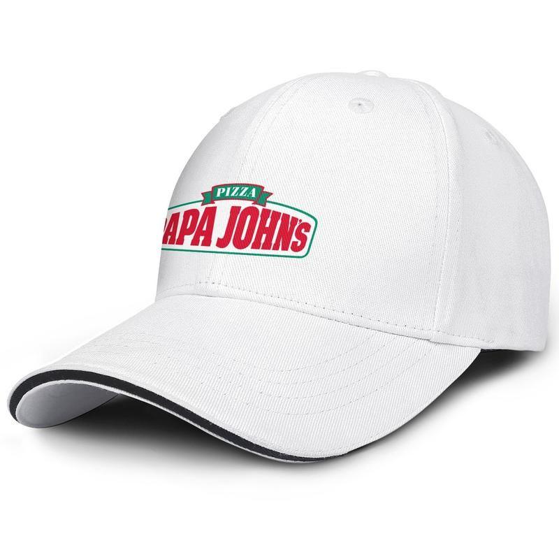 Unisex Papa John Pizza Moda Beyzbol Sandviç Şapka Tasarımı Eşsiz Kamyon sürücüsü Cap papa aşklar pizza lezzetli yiyecek Aşklar prim logosu