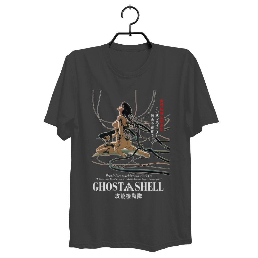 2020 Short Sleeve Cotton Man Clothing Ghost In The Shell T Shirt Anime Classic Japanese Akira T Shirt Vintage T Shirts Band T Shirts From Fjdh03 10 06 Dhgate Com