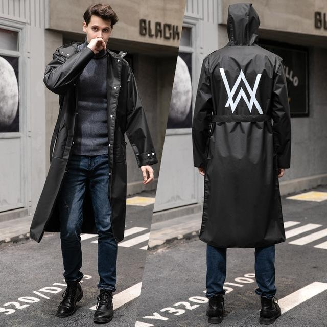 likIP Trench coat raincoat adult one-piece whole lengthened male and female battery Cloak body clothes Windbreaker body clothes car riding w