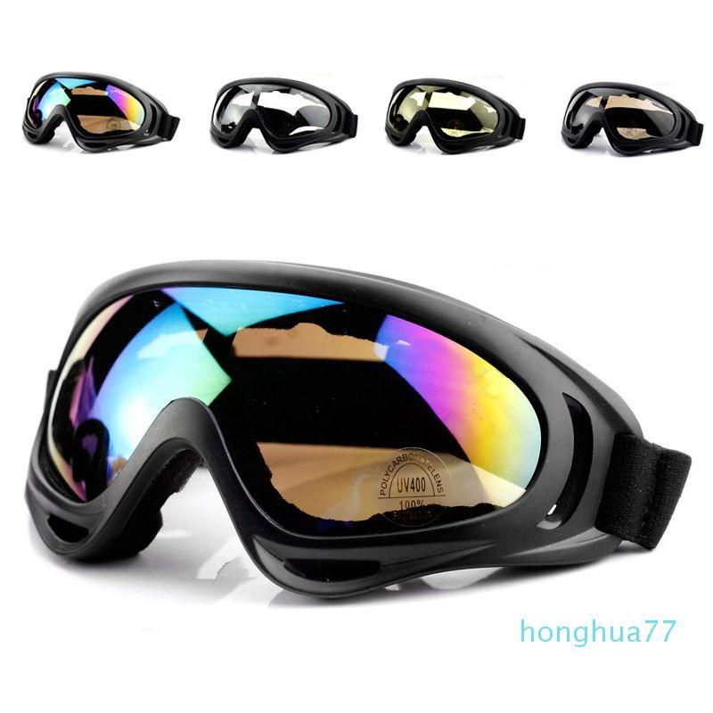 Luxus- Wassersport Outdoor-Skibrille Doppel UV400 Anti-Nebel Big Ski-Maske Brille Skifahren Männer Frauen Schnee Snowboardbrillen HX-X400