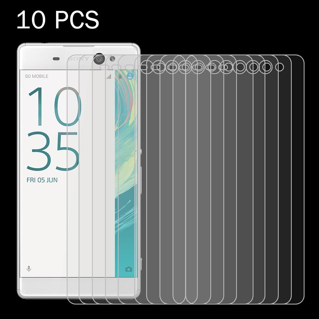 10 PCS pour Sony Xperia XA Ultra 0.26mm 9H Surface dureté 2.5D Antidéflagrant écran en verre trempé Film