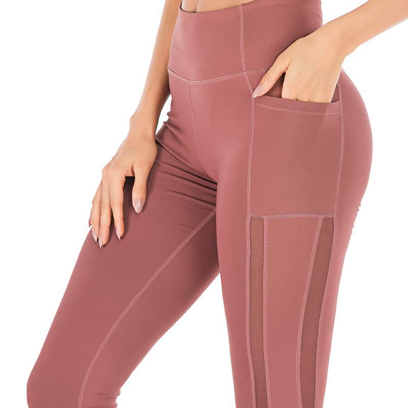Kadınlar NVYJ137 İçin Sorunsuz Gym Tozluklar Yüksek Bel Yoga Pantolon Tayt Tayt Spor Kadın Spor İnce Egzersiz Spor Pantolon