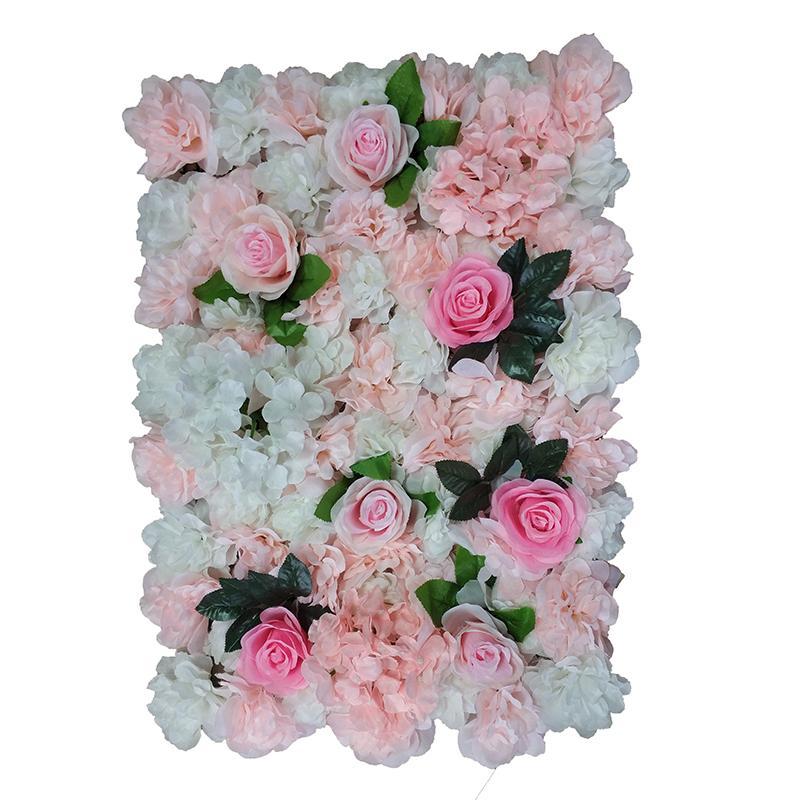 60x40cm cada peça Painéis Dahlia Peony Hydrangea da parede da flor de Rosa para o contexto Wedding Centerpieces decorações do partido