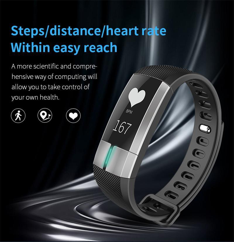 Смарт Группа G20 Смарт часы ЭКГ + PPG монитор Смарт браслет Smartband Фитнес браслет активность Tracker CALLL Напомните Шаг шагомер